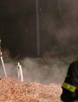 8 april Veel rookontwikkeling bij brandend snoeiafval Tanthofdreef Delft