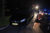 30 mei Dronken automobilist rijdt Mercedes in sloot Duinschooten Noordwijkerhout [VIDEO]
