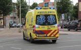 19 juni Vrachtwagenchauffeur rijdt tuin in en richt extreme schade aan Broekslootkade Den Haag
