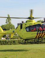 24 mei Fietser zwaargewond na val van fiets Onderweg Waddinxveen