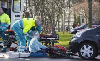 11 februari Gewonde na aanrijding Griegstraat Delft