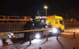 1 mei Forse schade na aanrijding Parallelweg Den Haag