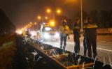 22 juli Auto rijdt achterop vrachtwagen A13 Delft