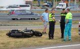 27 juni Motorrijder gewond bij aanrijding oprit A4 Den Haag-Zuid Den Hoorn