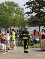 Binnenbrand bij kinderdagverblijf 't Kickertje in Den Hoorn