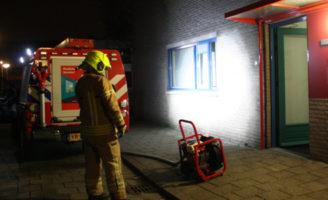 31 januari Brandweer rukt uit voor een kelderbrand Burgemeester Hendrixstraat Berkel en Rodenrijs