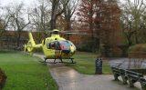 21 november Man zwaargewond bij val van hoogte Westplantsoen Delft [VIDEO]