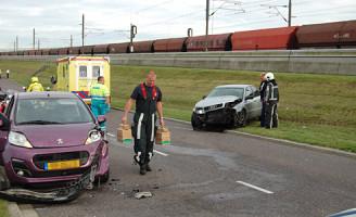 26 september Vrouw gewond na aanrijding Driemanssteeweg Rotterdam