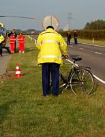2 oktober Fietser zwaargewond na aanrijding Groenekruisweg Spijkenisse