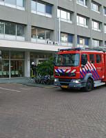 2 oktober Brand in parkeergarage Loosduinseweg Den Haag