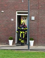 16 april Brand in spouwmuur Shetland Zoetermeer