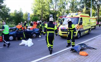 25 juli Kind bekneld in voertuig na aanrijding Zoetermeer