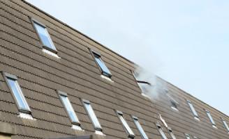 28 april Uitslaande zolderbrand Fledderusplan Zoetermeer