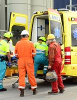 17 juni Persoon gewond op grote hoogte in boortoren De Lier