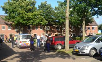 2 september Arrestatieteam inval Appelgaarde Zoetermeer