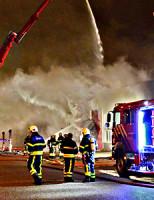 18 september Zeer grote brand Vlotlaan Monster