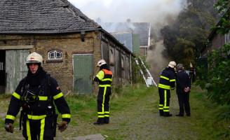 9 oktober Brand verwoest boerderij Zoetermeer