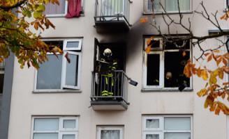 24 november Brand Heeswijkplein Den Haag verwoest woning