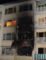 23 december Twee woningen zwaar beschadigd door brand Den Haag