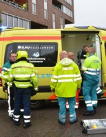 21 mei Schilder gewond na val van ladder