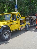 5 augustus Voertuigbrand in parkeergarage Madurodam Ver-Huëllweg Den Haag