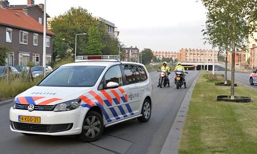 Media terplaatse_Fietser_geschept_Leiden_26072014_Image00100