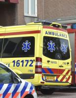 11 augustus Arrestatieteam houdt verwarde man aan Billitonstraat Leiden