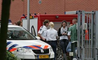 Binnenbrandmelding politiebureau Delft Jacoba van Beijerenlaan