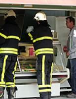 Binnenbrandmelding snackbar Bieslandsekade
