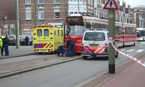 Ongeval Tram vs Voetganger (4)