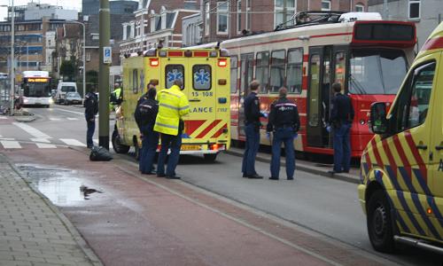 Ongeval Tram vs Voetganger (5)