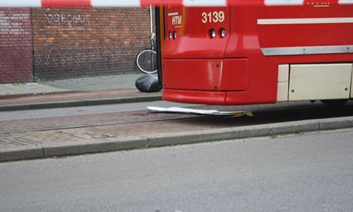 Ongeval Tram vs Voetganger (7)
