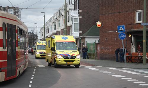 Ongeval Tram vs Voetganger (8)