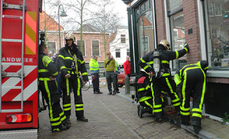 26 maart Binnenbrand Oosteinde Delft