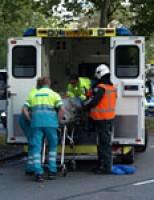 Automobilist gewond na kop-staart aanrijding Eendrachtsplein