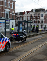 26 januari Neergestoken man aangetroffen bij tramhalte Suezkade Den Haag