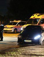 25 september Auto op z'n kant na harde botsing met andere auto Hazepad Rijswijk
