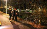 15 oktober Groot alarm voor aangetroffen fiets bij sloot Noord West Buitensingel Den Haag