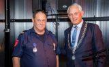 15 november Koninklijke onderscheiding voor brandweerman Schiedam
