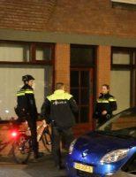 30 november Grote zoekactie na melding bonken Paets van Troostwijkstraat Den Haag
