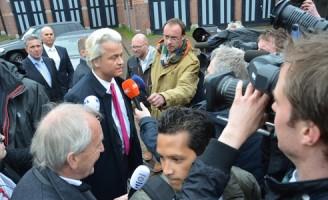 21 mei Geert Wilders bezoekt Haagse Schilderswijk