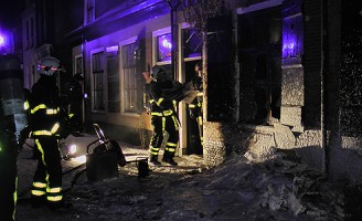 woningbrand Doelenstraat Delft
