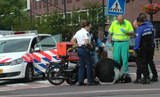 1 Juli aanrijding scooter brommer Oostsingel