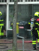 24 februari Flinke rookontwikkeling bij brand in een restaurant Voorstraat Delft (video)