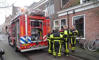 21 januari Woning zonder stroom na brand in meterkast Delft