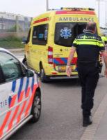 10 juni Man wordt agressief tegenover hulpverleners na val Koningin Julianaweg 's-Gravenzande [VIDEO]