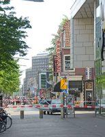 23 mei Spui enige tijd afgesloten door verdachte auto Den Haag
