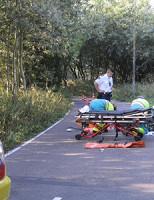28 augustus Scooterrijder gewond na aanrijding