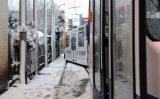 10 december Tram ontspoord bij de tramremise Harstenhoekplein Den Haag