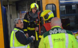 24 februari Brand in een sprinter op Station Hollands Spoor Den Haag